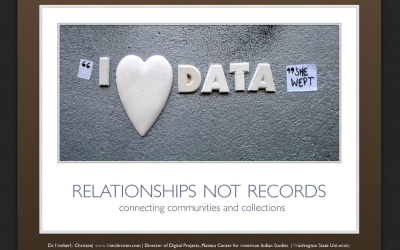 Relationships not Records
